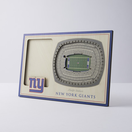 New York Giants 3D Picture Frame