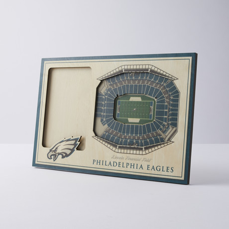 Philadelphia Eagles 3D Picture Frame