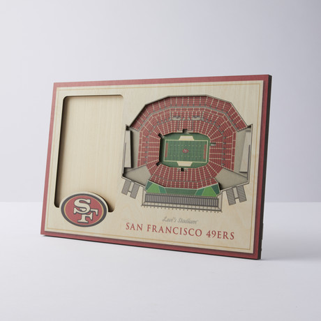 San Francisco 49ers 3D Picture Frame