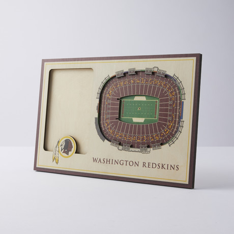 Washington Redskins 3D Picture Frame