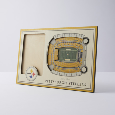 Pittsburgh Steelers 3D Picture Frame