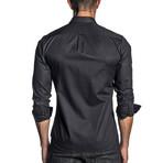 Woven Long Sleeve Shirt // Black (L)