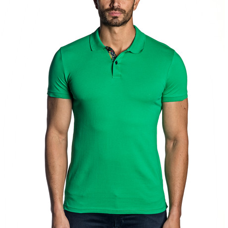 Knit Polo // Green (S)