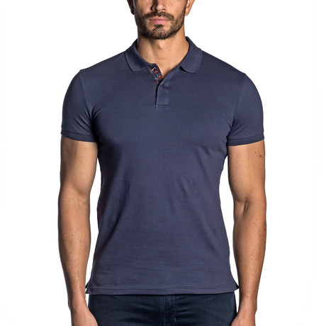 Knit Polo // Navy (M)