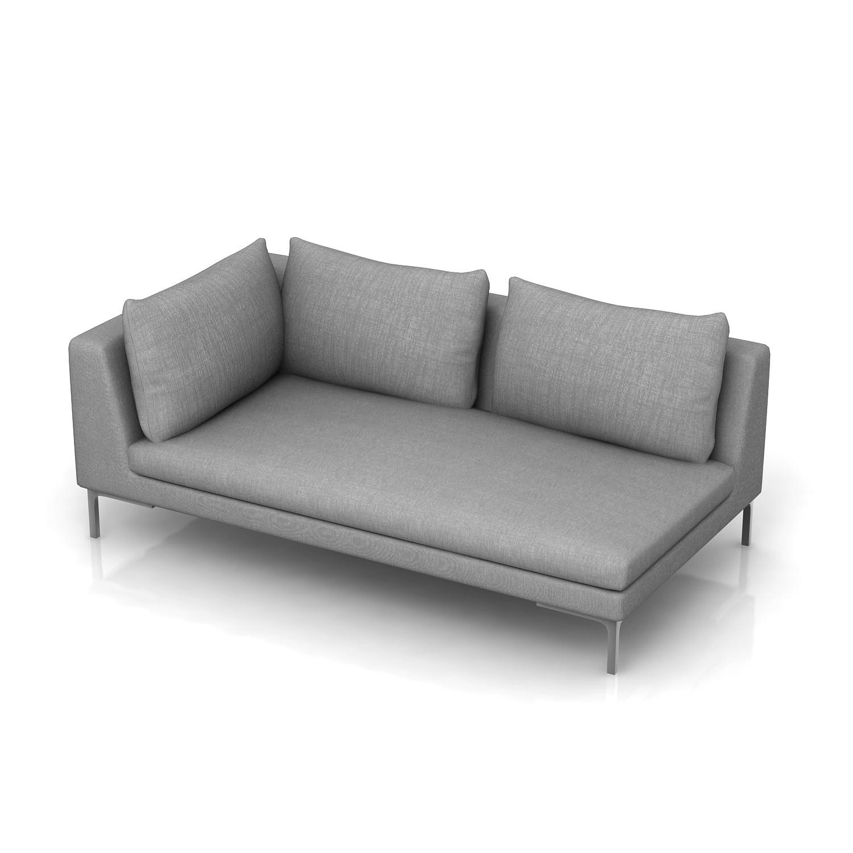 One Arm Sofa Rsf Cina Canvas