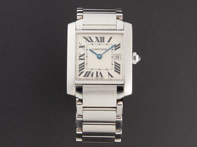 Photo of Superior Timepieces Up to 65% Off For 24 Hours Only Cartier Tank Francaise Midsize Quartz // // Pre-Owned by Touch Of Modern