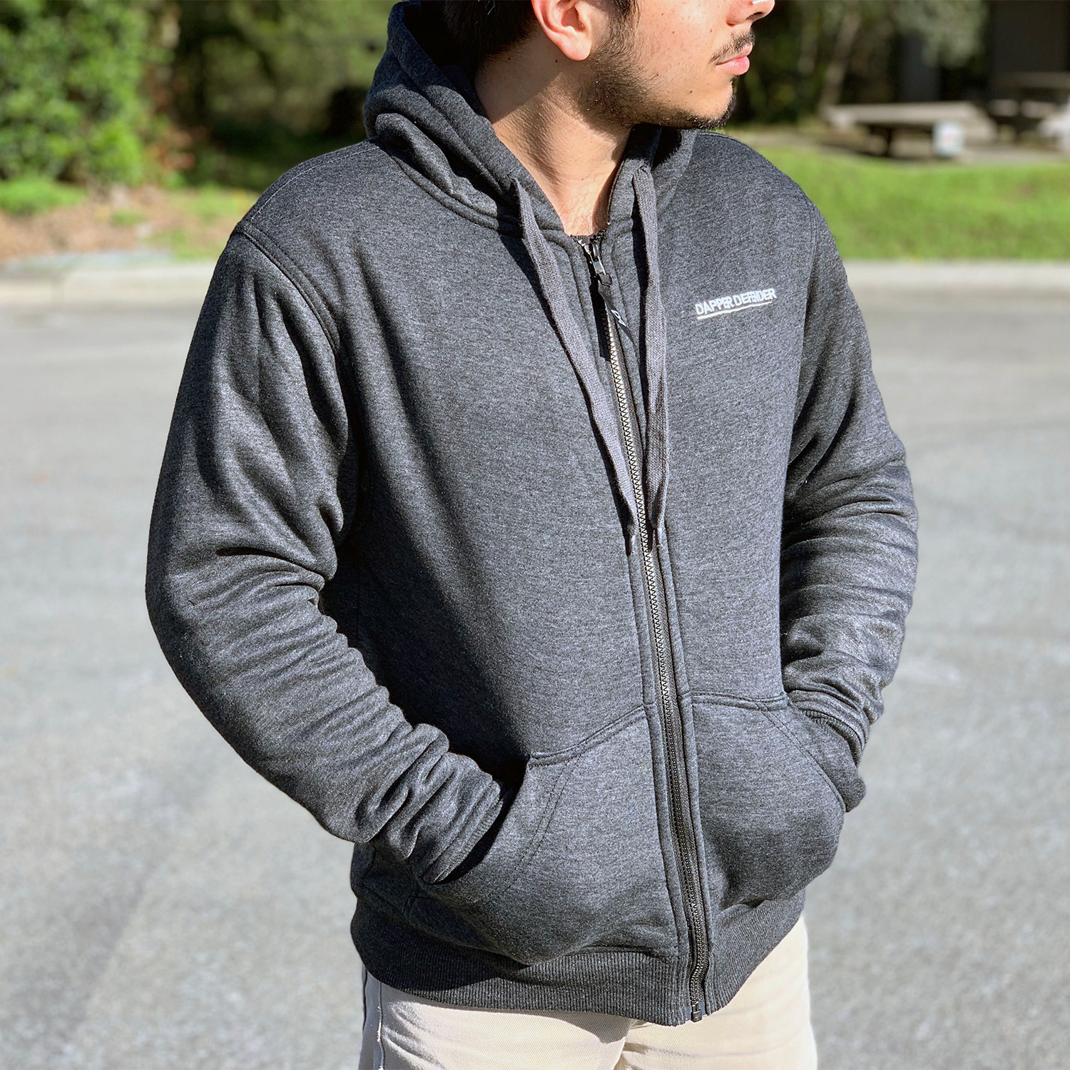 Armored Kevlar Hoodie // Gray (XS) - Dapper Defender - Touch