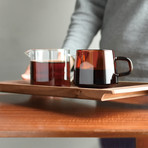 SEPIA Nonslip Tray // Walnut