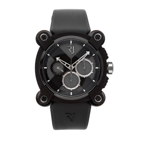 Romain Jerome Moon Dust-DNA Moon Invader Black Metal Chronograph Automatic // RJ.M.CH.IN.005.01