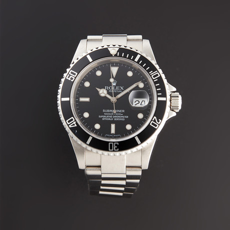 Rolex Submariner Automatic // 16610 // Z Serial // Pre-Owned