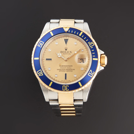 Rolex Submariner Automatic // 16613 // D Serial // Pre-Owned