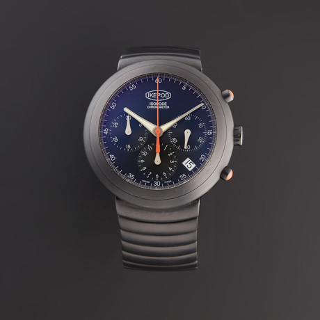 Ikepod Isopode Chronograph Automatic // 8W.ISB01 // Store Display