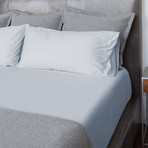 Sateen Bed Sheets // Powder Blue (Twin)