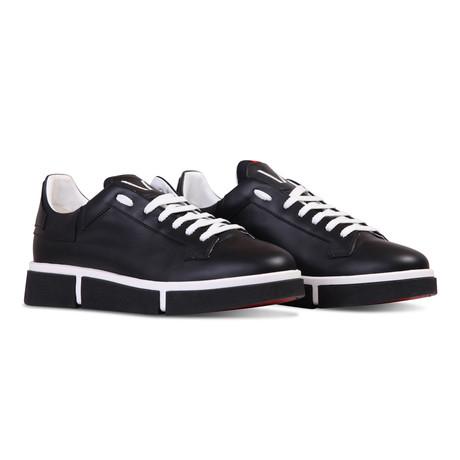 Jaeden Sneaker // Black + Black (Euro: 40)