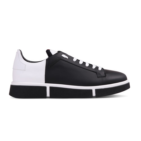 Lane Sneaker // White + Black (Euro: 40)