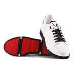 Maverick Sneaker // White + Black (Euro: 42)
