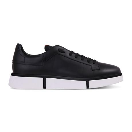 Izaiah Sneaker // Black + White (Euro: 45)