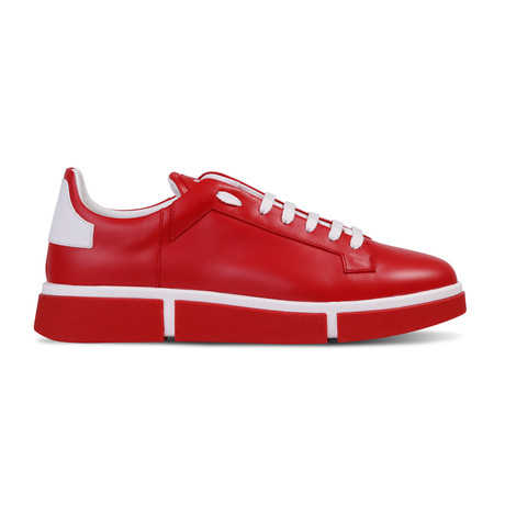 Johan Sneaker // Red + Red (Euro: 40)