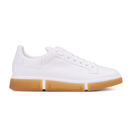 Dane Sneaker // White + Honey (Euro: 40)