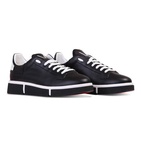Tony Sneaker // White + Black (Euro: 40)