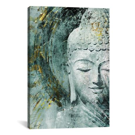 "Buddha, Front // Eric Yang (18""W x 26""H x 0.75""D)"