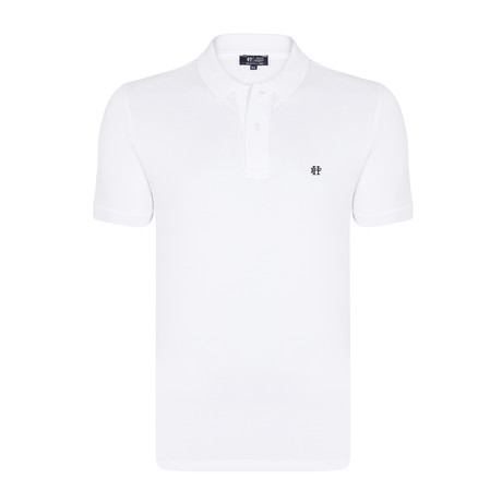 Sterling SS Polo Shirt // White (XS)