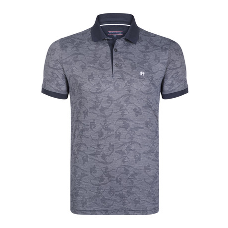 Leighton SS Polo Shirt // Navy (XS)