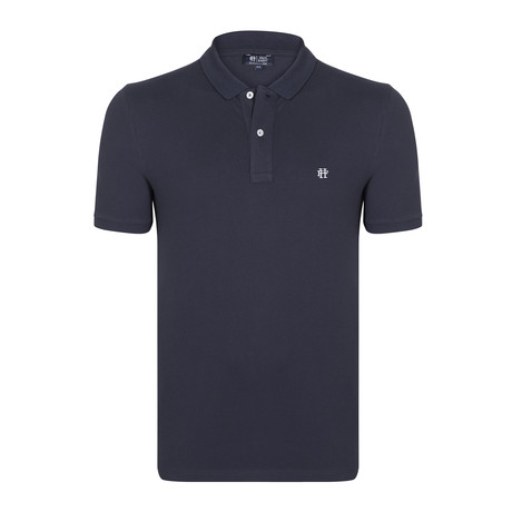 Davis SS Polo Shirt // Navy (XS)