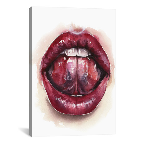 """Tongue // Kira Balan (18""""W x 26""""H x 0.75""""D)"""