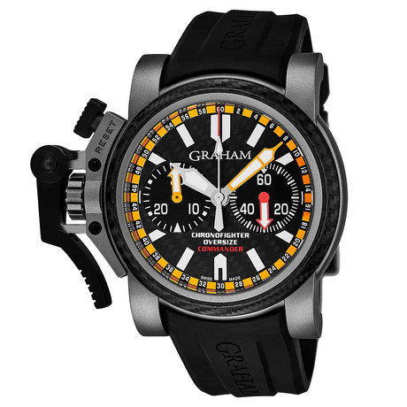Graham Chronofighter Oversize Commander Automatic // 2OVATCO.B01AK10 // Store Display