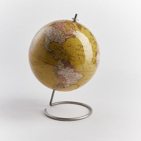Globe // Tan (With Standard Pins)