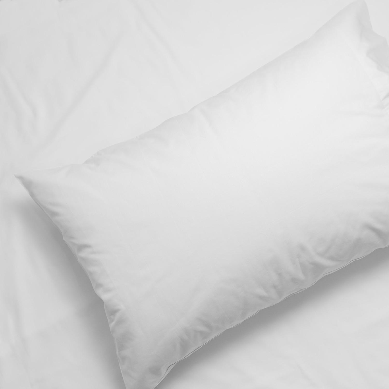 Silk-Soft White Silvon Anti-Acne Pillowcase Woven with Pure Silver Standard Antimicrobial