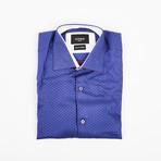 Long Sleeve Button-Up Shirt // Sunset (S)