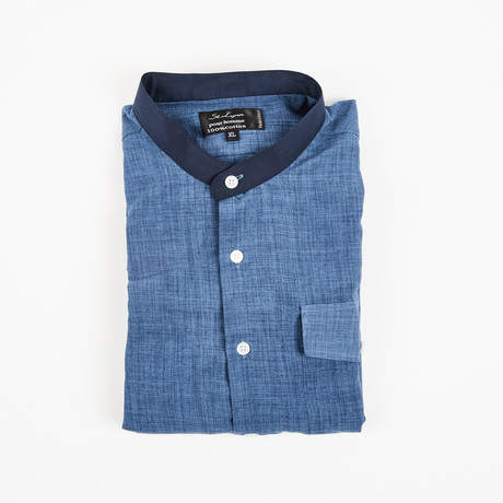 Alec Sports Shirt // Slate + Blue (XL)