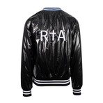 RTA // Metallica Zip-Up Bomber Jacket // Black (L)