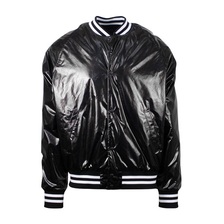 RTA // Metallica Zip-Up Bomber Jacket // Black (XS)