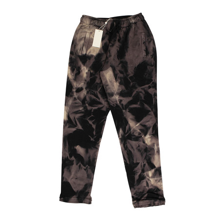 Armes X 424 // Dye Sweatpants // Black (XS)