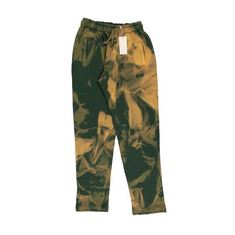 Armes X 424 // Dye Sweatpants // Green (XS)