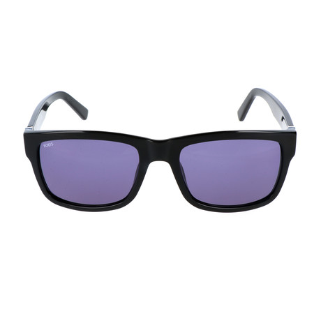 Men's TO0163 Sunglasses // Shiny Black