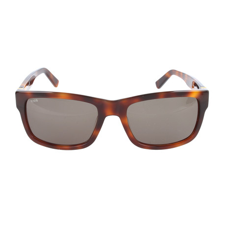 Men's TO0163 Sunglasses // Dark Havana