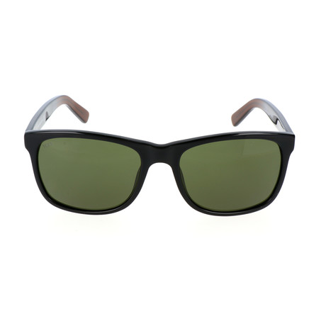 Men's TO0191 Sunglasses // Shiny Black