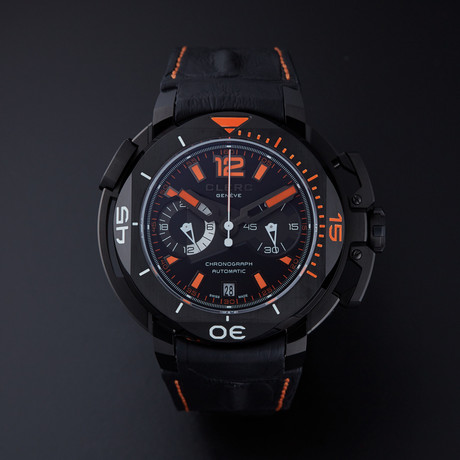 Clerc Hydroscaph Chronograph Automatic // CHY-554 // Store Display