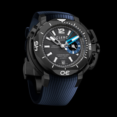 Clerc Hydroscaph Chronograph Automatic // CHYE-248 // Store Display