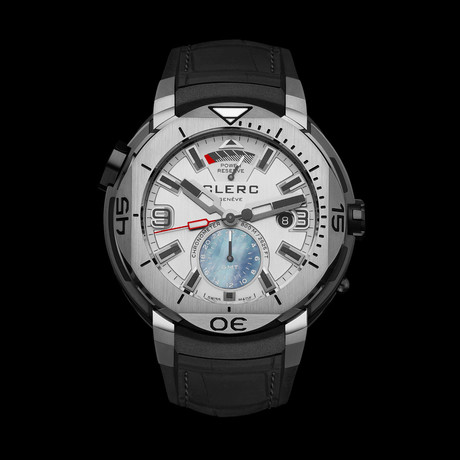Clerc Hydroscaph GMT Automatic // GMT-1.9R.1 // Store Display