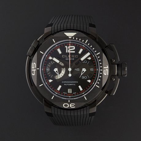 Clerc Hydroscaph Chronograph Automatic // CHY-217 // Store Display