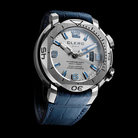 Clerc Hydroscaph H1 Chronometer Automatic // H1-1.11.1 // Store Display