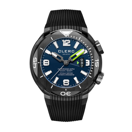 Clerc Hydroscaph H1 Chronometer Automatic // H1-4A.1.4 // Store Display