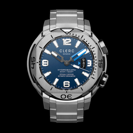Clerc Hydroscaph H1 Chronometer Automatic // H1-1-B.3 // Store Display