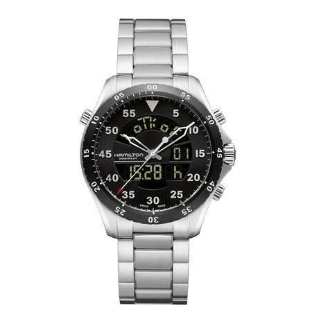 Hamilton Khaki Flight Timer Quartz // H64554131