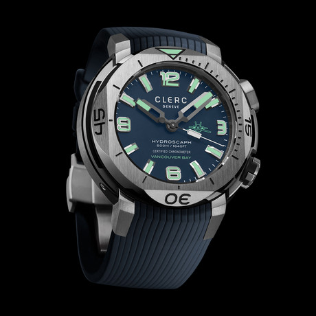 Clerc Hydroscaph H1 Chronometer Automatic // H1-1.4.V // Store Display